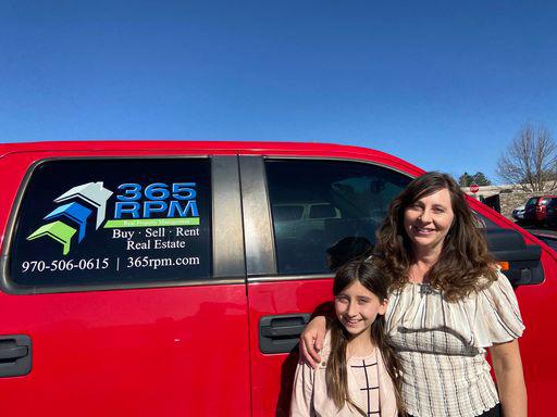 365 RPM team member and daughter